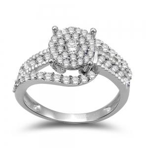 Ultimate Value® 1.00 CT. T.W. Diamond Lady's Ring In 10K Gold
