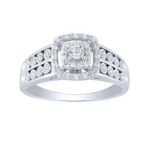 0.26 CT. T.W. Diamond Ring In 10K Gold